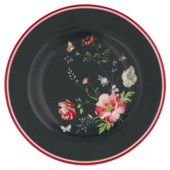 "GreenGate Dessertteller ""Meadow"" black"